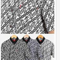 Farhen Batik Casual [ Kemeja pria/Lengan Pendek ] [ Kerah Shanghai ]