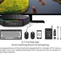 T95Z Plus Smart TV Box 4K Android 7.1 Amlogic S912 2GB 16GB