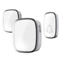 Bell/Bel Pintu Wireless Doorbells Waterproof 36 Nada - A101 2PCS