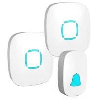 High Quality Bel Pintu Wireless Doorbels Waterproof 36 Nada 2 Receiver
