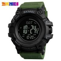 SKMEI Altimeter Original Jam Tangan Pria Outdoor Anti Air 1358 - ARMY