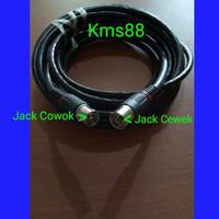 Kabel Antena TV RG6 Coaxial dengan Sambungan Jack ke Tv 10M