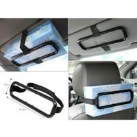 Tissue Paper Box Car Holder / Holder Penjepit kotak tissue mobil