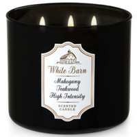 Bath & Body Works BBW Mahogany Teakwood High Intensity Scented Candle