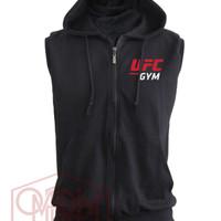 Jaket UFC GYM terbaru Hoodie Jumper JUMBO XXL 3XL 4XL 5XL big size