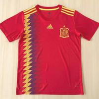 Jersey grade ori sapain home jersey spanyol home world cup 2018