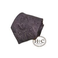 Dasi Neck Tie Motif Wedding Best Man BLACK PAISLEY BATIK TIE - 2 inch