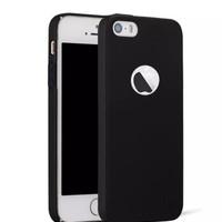 Case Slim Black Matte iPhone 5 / 5s Softcase Baby Skin