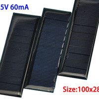 SOLARCELL PANEL SURYA TENAGA MATAHARI SOLAR CELL 100*28 MINI 5.5V