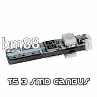 Led T5 3 Mata SMD Canbus - Lampu Indikator Speedo