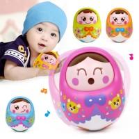 Mainan Bayi dan Balita Tumbler Doll | Boneka Goyang Aneka Warna