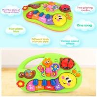 Mainan Edukasi Bayi dan Balita Piano Musik Kupu-Kupu | Learning Piano