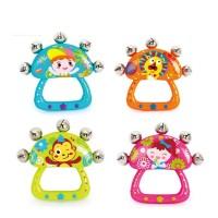 Mainan Baby Bell Hand Music Toys Rattle Bells   Mainan Bayi dan Balita