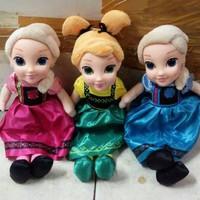 Boneka Frozen Elsa Anna per pcs