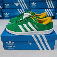 Adidas Hamburg Green Yellow Original