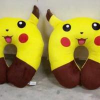 Bantal Leher Pokemon Lucu Kuning