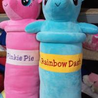 Guling Kesayangan Little Pony (Rainbow dash / Pinkie Pie