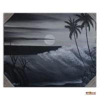 Jual Lukisan Pemandangan Pantai Di Gianyar Harga Terbaru 2020