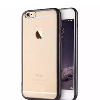Softcase Silicon Jelly Case List Shining Chrome for Apple iPhone 6 Plu