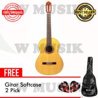Yamaha Gitar Klasik C-315 / C 315 / C315 - Natural + Softcase & 2 Pick
