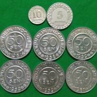 Uang kuno mahar 18 rupiah - Perak