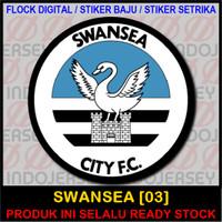 Patch Flock Setrika - Logo Inggris EPL - SWANSEA [03]