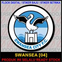 Patch Flock Setrika - Logo Inggris EPL - SWANSEA [04]