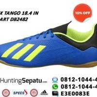 Sepatu Futsal Adidas X Tango 18.4 IN Blue Original DB2482