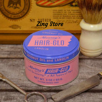 Pomade Murrays HairgGlo/Hair-Glo 3OZ 100% Original USA - Free Sisir
