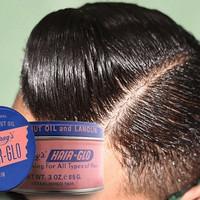 POMADE MURRAYS HAIRGLO HAIR-GLO FREE SISIR 30Z 100% ORIGINAL USA