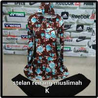 Setelan baju renang baju diving wanita muslimah