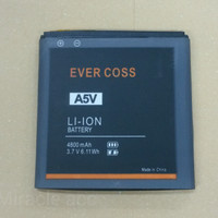 Baterai Handphone Evercoss A5V / Ori / Double Power / batrai hp