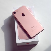 APPLE IPHONE 7 128GB ROSE GOLD GARANSI 1 TAHUN