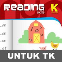 Reading Essentials Buku Aktivitas Anak TK Menulis Membaca Huruf Kata
