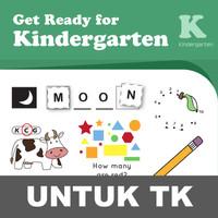 Ready Kindergarten Buku Aktivitas Anak TK Menulis Menggambar Mewarnai