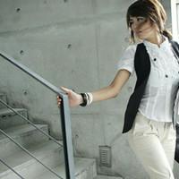 Gelang fashion wanita tali kulit imitasi/simple casual/kado