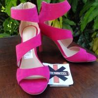 Sepatu Kerja Pesta wanita high heels Christian Siriano Women's PINK