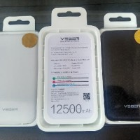 Powerbank VEGER 12500 mAh Slim New Original Garansi 1thn Powerbank VEG