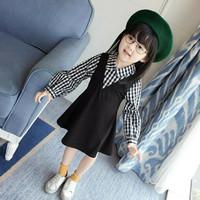 Set dress anak / overall dress / baju import / baju anak korea