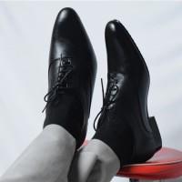 Sepatu Pantofel Pria PREMIUM - formal untuk kerja dan pesta Wetan NS-4