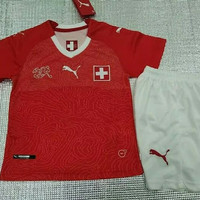 Jersey Swiss Home Kids Anak World Cup 2018 Grade Ori Top Quality