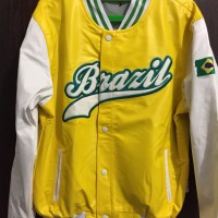 Brazil 2014 World Cup Varsity Jacket