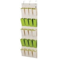 LOCK&LOCK Eco Living Hanging Storage Pocket 20 Shelf Green LLB253G