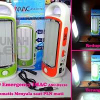 LED Emergency Lampu Menyala Otomatis 120 SMD iMac ASC D9120 Charming
