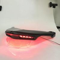 Cover ducktail dengan lampu LED carbon yamaha NMAX merk NEMO