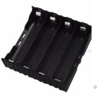 Paralel 4x 18650 Battery Holder Plat Lempengan Kotak Baterai Batere 4s
