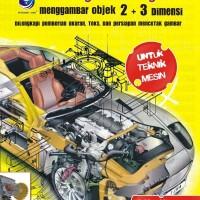 AutoCad 2010 - Langkah Ringkas Menggambar Objek 2+3