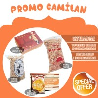 Paket E Camilan Pia/Pie/kacang Lengkap Oleh Oleh Khas Bali