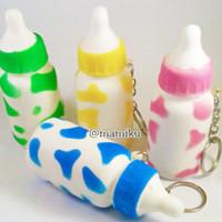 Squishy Dot Botol Susu Slow Rising- Squishy Milk Bottle Slow Rising
