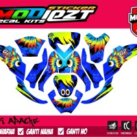 DECAL YAMAHA FINO FOX FULL BODY